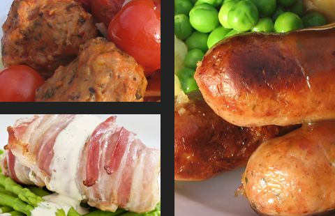 Award-winning bespoke meat products for food manufacture, food service & retail